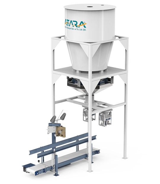Under Silo Mobile Type Pulses Packing Machine (30-50 Kg)5