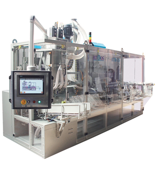 Six-Station Unloading Double-Stage Weighing Rotational Robotic Flour Packing Line (25-50 Kg)6