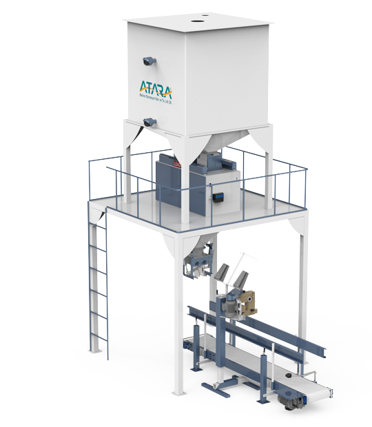 Under Silo Mobile Type Pulses Packing Machine (30-50 Kg)4
