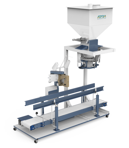 Double Weighing Single Station Pulses Packing Machine (5-10 / 10-25 Kg)5