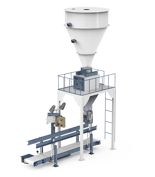 Under Silo Mobile Type Pulses Packing Machine (30-50 Kg)1