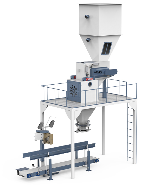 Double Weighing Single Station Feed Packing Machine (25-50 Kg)1