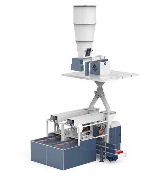 Double Weighing Single Station Flour Packing Machine (25-50 Kg)9
